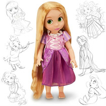 Rapunzel Muñeca Animators De Coleccion Disney Store Original