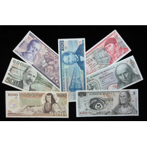 Colección De 7 Billetes Mexicanos, Cuarta Emisión.