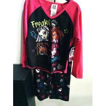 Monster High Pijama De Dos Piezas Blusa Y Pantalon