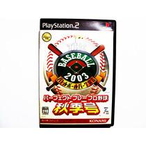 The Baseball 2003 Japones Ps2 - Playstation 2