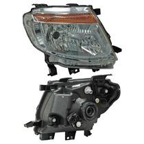 Faro Ford Ranger 2013-2014 Fondo Cromado C/motor