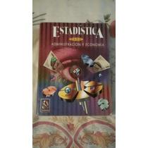 Libro Estadística Para Administración Y Economía, Anderson,