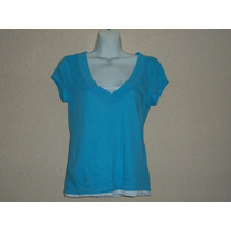 Blusa Casual D Algodon 2 En 1 One Step Up T/l Para Dama
