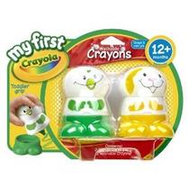 Mi Primer Crayola Crayon Personaje Amarillo Y Verde