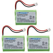 Urpowerâ® 3 Pack Teléfono Inalámbrico Batería Para Motorola