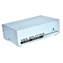 Splitter Vga 4 Salidas Vga Pc Tv Pantalla Proyector 250mhz