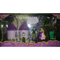 Set De Mini Castillo De Rapunzel De Disney Store
