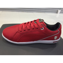 Tenis Puma Ferrari Primo Sf 2015 Rojo 100% Piel Sf -10