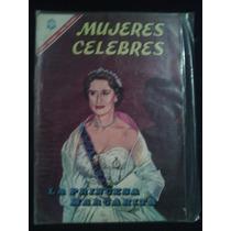 La Princesa Margarita En: Mujeres Celebres No.66 Año-1966