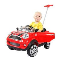 Prinsel Vehículo De Empuje Mini Cooper Color Rojo