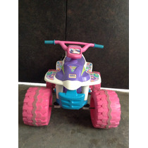 Montable Moto Niña Power Wheels Barbie Eléctrica De 6v 4 Km