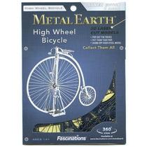 Rompecabezas 3d Bicicleta Antigua Fascinations Metal Mms087
