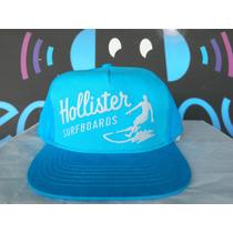 Gorra Hollister Surfboards Turquoise Ajustable 100% Original