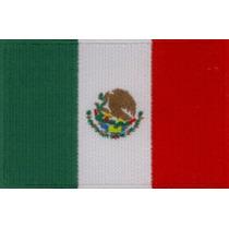 Bandera Mexicana Bordada Muy Bonita Entrego Hoy Mismo!