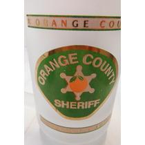 Tarro Cervecero Orange County Sheriff Department Policia