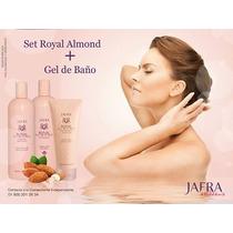 Paquete Jafra Aceite Almendras 500 Ml, Crema 500 Ml,gel Baño