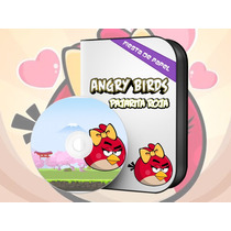 Ki-055 Kit Imprimible Y Editable Angry Birds (pajarita Roja)