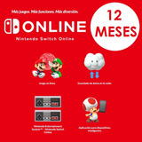 12 Meses - Nintendo Switch Online / Sorteo $200 Eshop