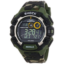 Reloj Timex® Expedition World Shock Camuflaje Militar