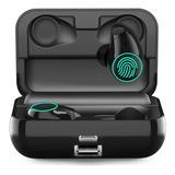 Auriculares De Bluetooth  I19 Manos Libres Base De Carga