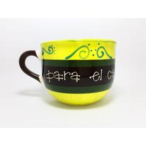 Súper Tazas Artesanales Diseño 600 Ml Tazotas Ceramica Cpa1