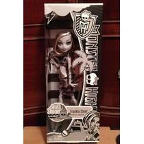 Monster High Frankye Blanco Y Negro Playa Calavera Mattel