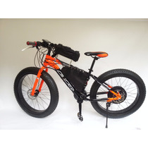 Bicicleta Electrica Fat Bike Iron Horse Bat Litio 30km