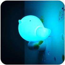 Bluecostoâ® (azul Jungle Bird) Lámpara Noche Niños Sensor De