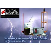 Kit De Pararrayos 300 Metros De Protección