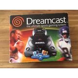 Sega Dreamcast Edicion Sports Negro En Caja Como Nuevo
