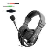 Audifonos Diadema Con Micrófono Y Control Volumen Pc Laptop