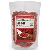 Baya Goji Organica Certificada Healthworks 454g / 16oz