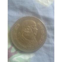 Moneda De Morelos De Plata