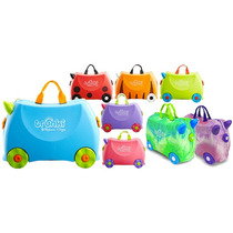 Maleta 3 En 1 Trunki Varios Colores Con Sticker