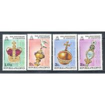 Islas Maldivas 25 Años Coronación Reina Isabell I I