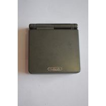 Consola Nintendo Gameboy Advance Sp Negro Doble Luz Ags101