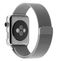 Banda Acero Inoxidable Apple Watch Photive 42mm Iman - Plata