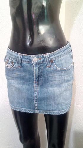 Minifalda De Mezclilla Sexy Linda Talla M b74aa81e7c70