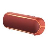 Bocina Sony Extra Bass Xb22 Portátil Con Bluetooth Roja