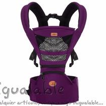 Portador Para Bebe Backpack & Kangaroo Vedar Morado