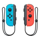 Control Joystick  Inalámbrico Nintendo Joy-con Rojo Neón/azul Neón