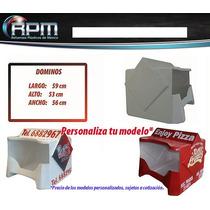 Caja Para Moto Reparto Mod Dominos - Cajas Para Motos