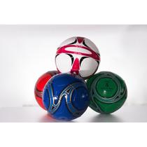 Docena De Balon Futbol Soccer # 5 De Mexico Con Red Valvula