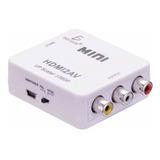 Adaptador Convertidor Hdmi A Rca 1080p Tv Av Audio Ele-gate
