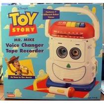 Toy Story Mr. Mike Replica Original 7 Voces Voice Grabadora