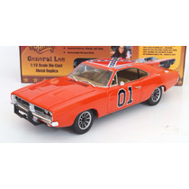 Dodge Charger 1969 General Lee Autoworld Escala 1:18