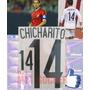 Estampados Mexico Visita 2014-2015,#14 Chicharito