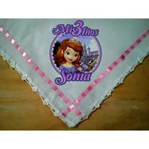 Servilletas Sublimadas 3 Años Princesa Sofia 10 Piezas