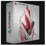 Autodesk Autocad 2018 Original + Vídeo Tutorial Instalación