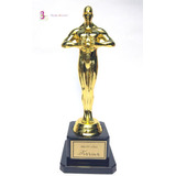 Oscar Trofeo Estatuilla Premio Hollywood Cine Fiesta Tematic